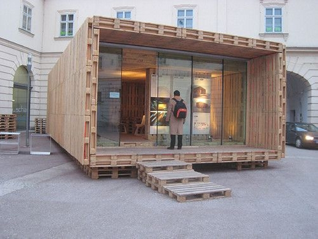 Classic Pallet Recycled House