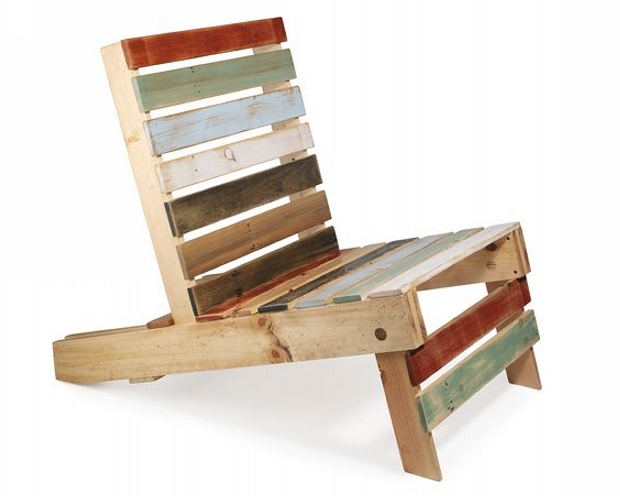 Cute Pallet Wood Chair