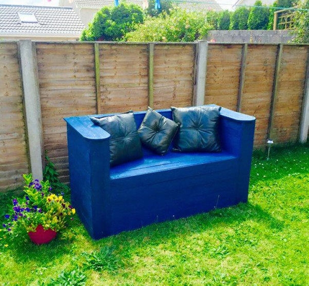 Decoration Patio Garden Couch