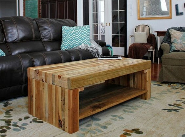 Huge Pallet Coffee Table