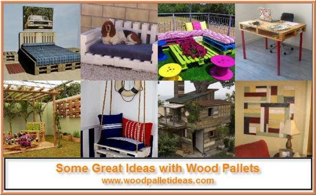 Some Great Ideas with Wood Pallets