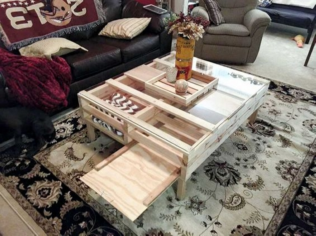 Multipurpose Pallet Coffee Table