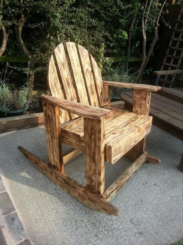 Pallet Barn Wood Rocking Chair