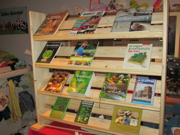 Pallet Bookcase Designs