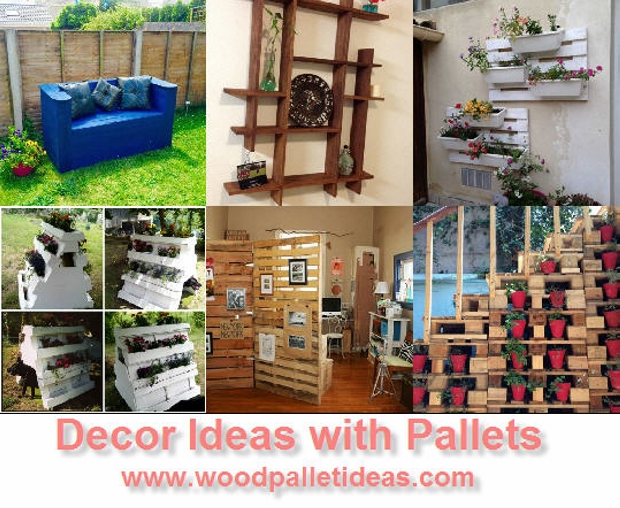 Creative Decor Ideas with Wooden Pallets