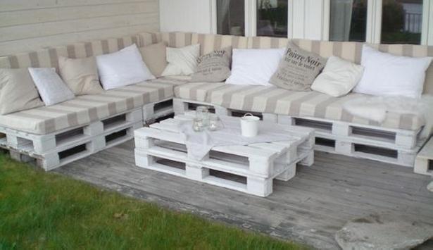 Pallet Garden Patio Couch