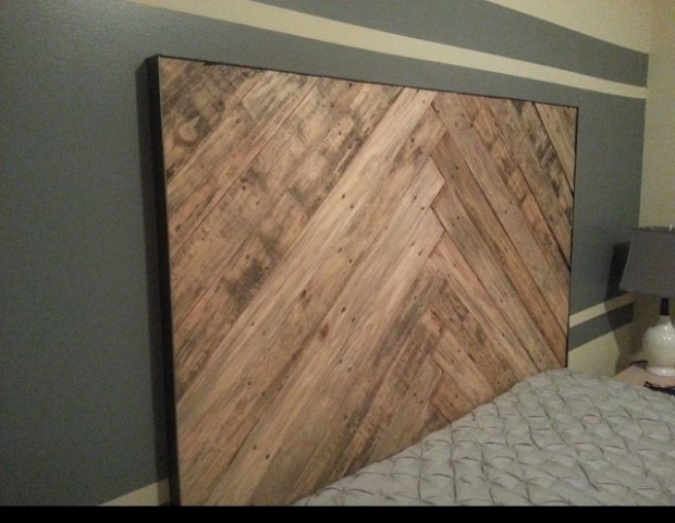 Creative Pallet Headboard Ideas Wood