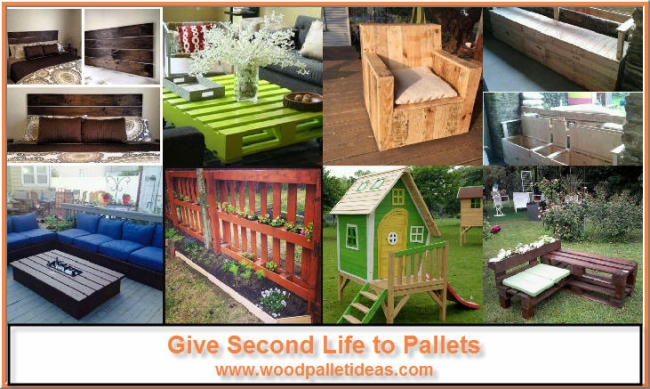 Give Second Life to Pallets