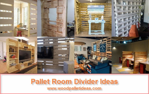 Pallet Room Divider Ideas Wood Pallet Ideas
