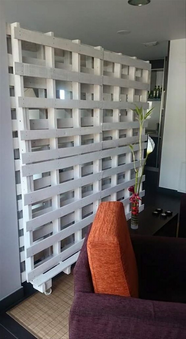 Pallet Room Divider Projects