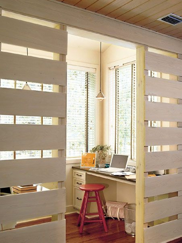 Pallet Room Divider For Privacy