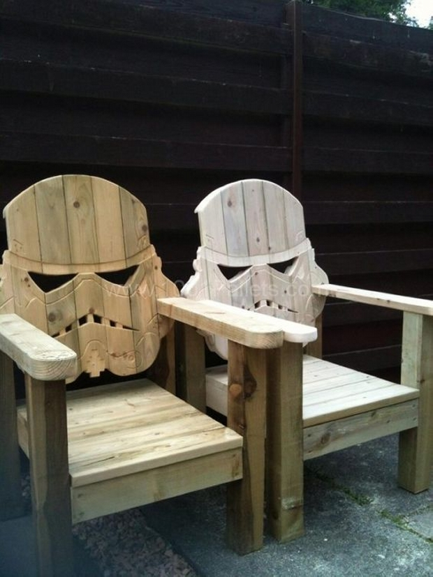 Pallet Star War Chairs