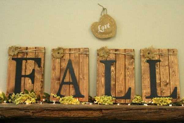 Pallet Wall Art For Fall