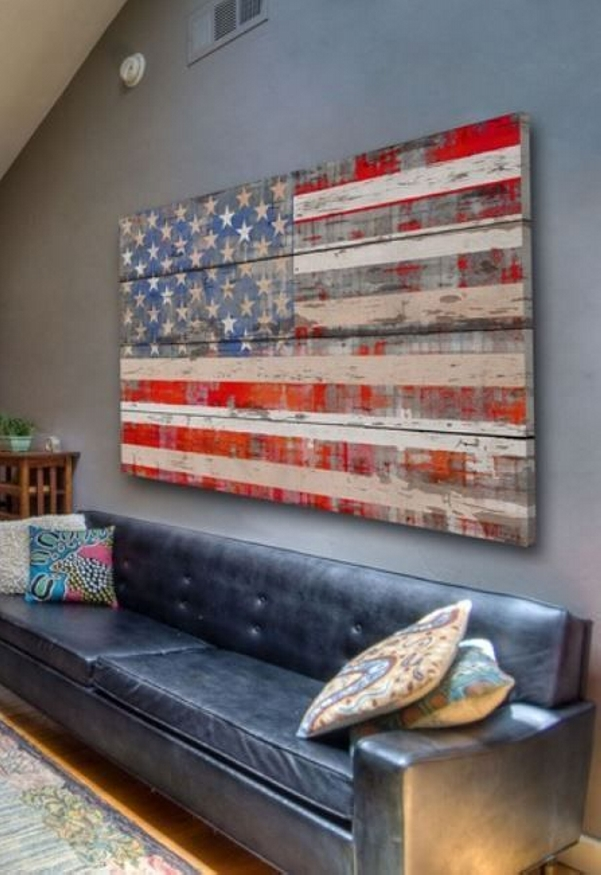 Diy Wall Art For Man Cave : Ingenious pallet wall art ideas wood