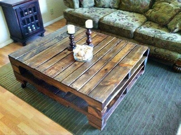 Pallets Coffee Tables