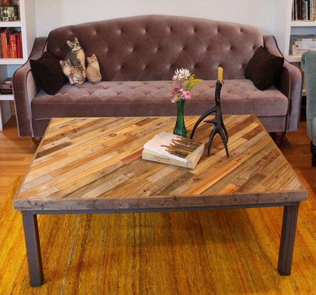 Pallets Wooden Coffee Table