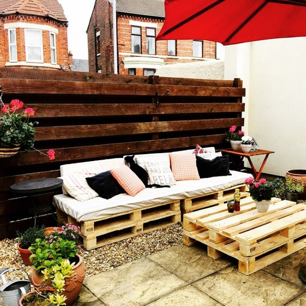 Patio Garden Pallet Couch