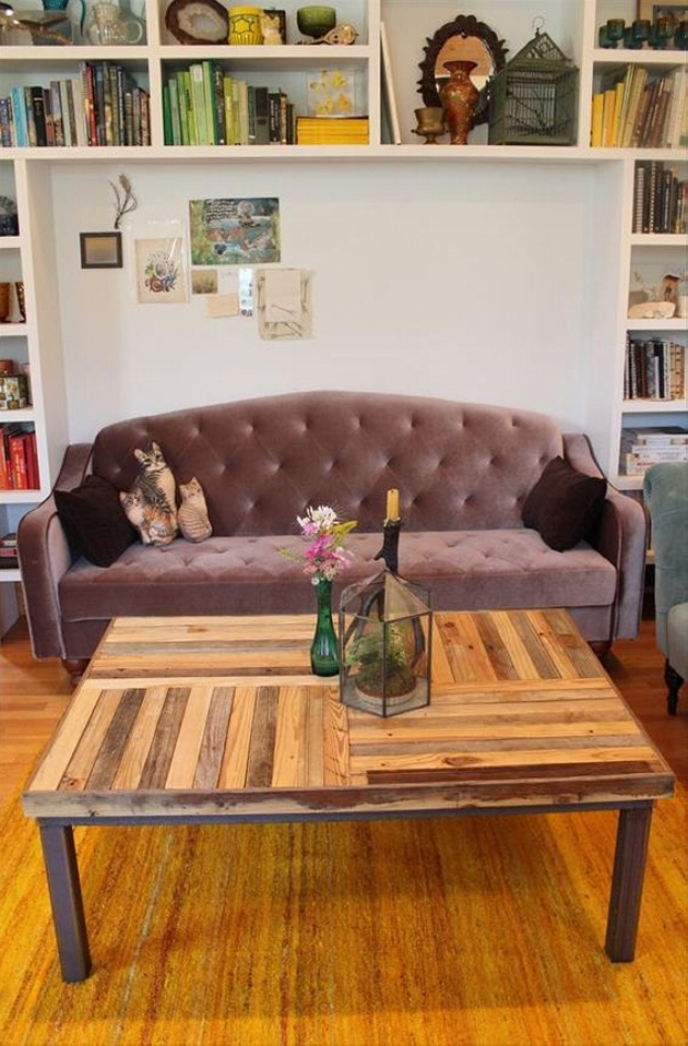 Reclaimed Recycled Pallet Coffee Table