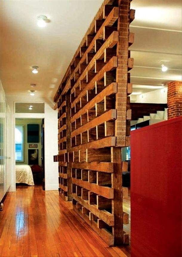 Pallet Room Divider Ideas - Wood Pallet Ideas