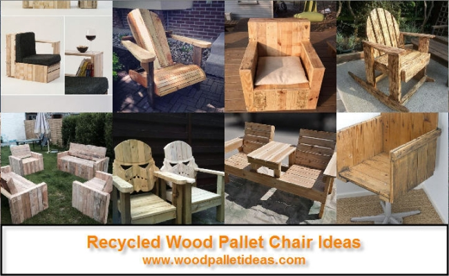 Chairs Benches Stools Wood Pallet Ideas