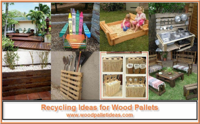 Recycling Ideas for Wood Pallets