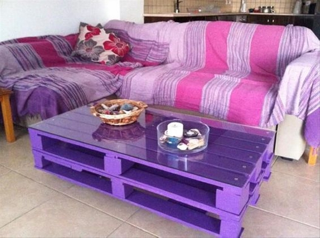 Reused Pallet Coffee Table