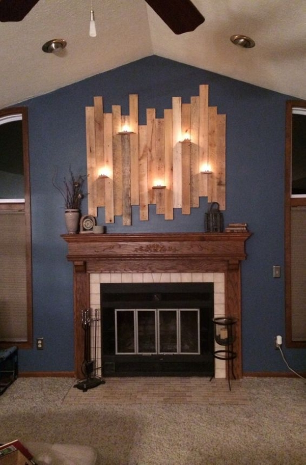 Ingenious Pallet Wall Art Ideas Wood