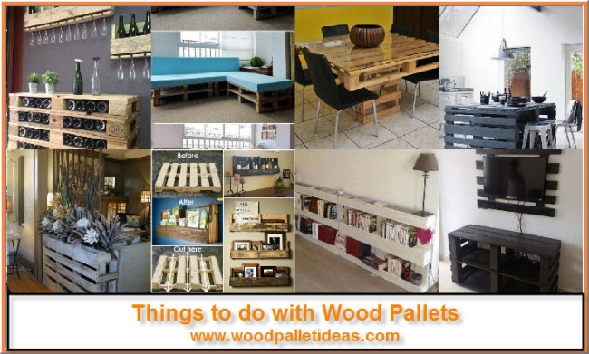 Things to do with Wood Pallets