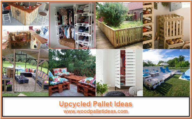 Upcycling Ideas for Wood Pallets