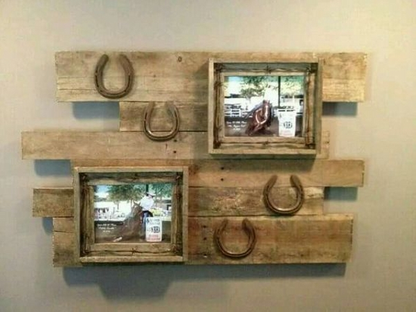 Western Wall Decor Ideas : Ingenious pallet wall art ideas wood