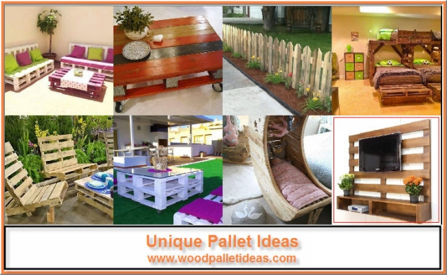 Unique Pallet Ideas