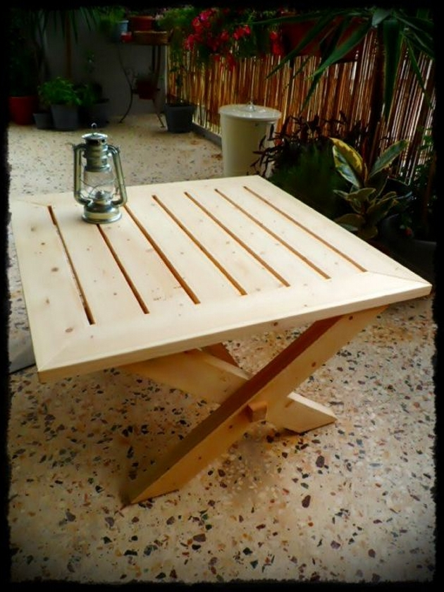 Wooden Pallet Coffee Table Ideas