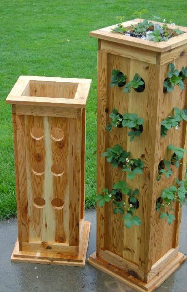 Upcycled Pallet Planter Ideas Wood