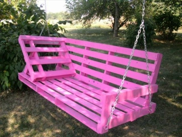 amazing pallet swing idea
