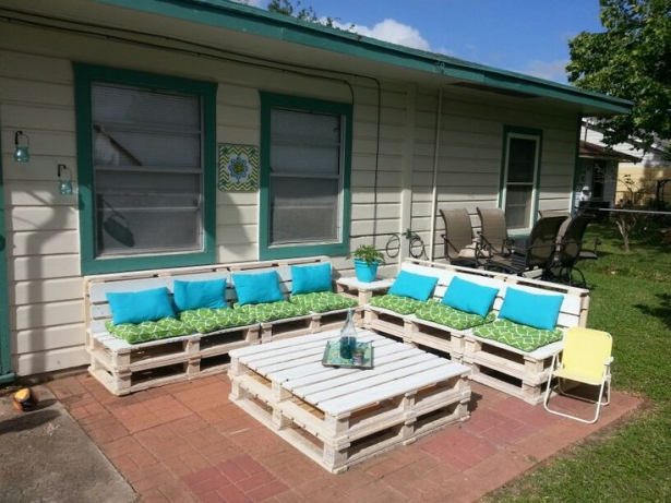 garden patio pallet furniture