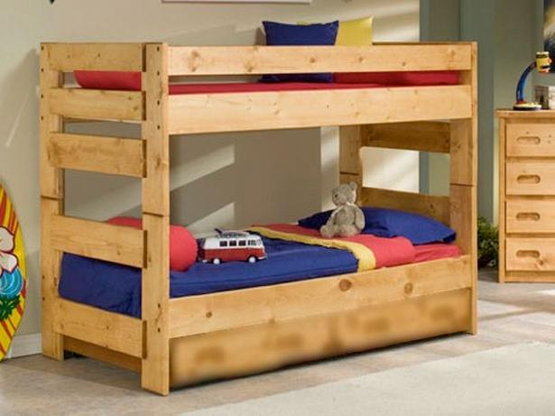 Astonishing Ideas for Pallet Loft / Bunk Beds - Wood ...