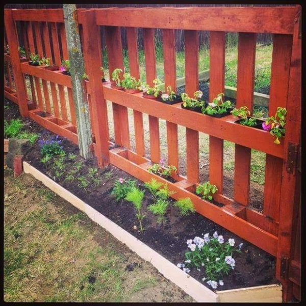 Give Second Life To Pallets Wood Pallet Ideas