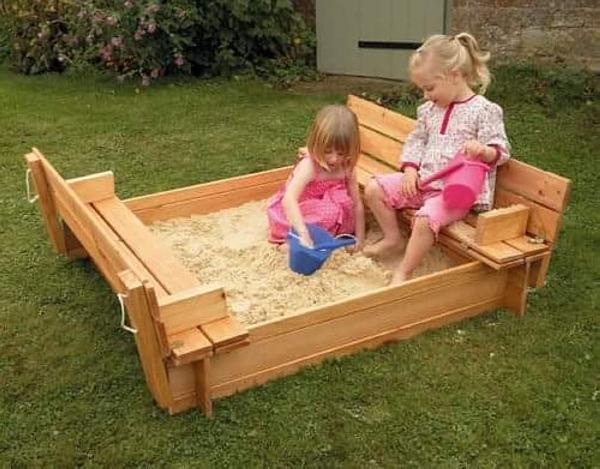 pallet kids sandbox