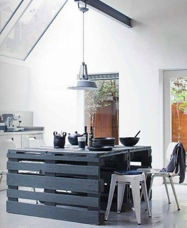 Things to do with wood pallets wood pallet ideas for Kitchen ideas using pallets