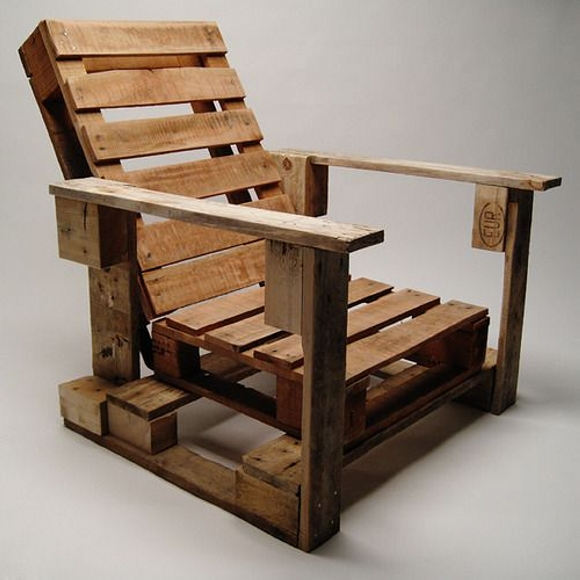 pallet made chairs