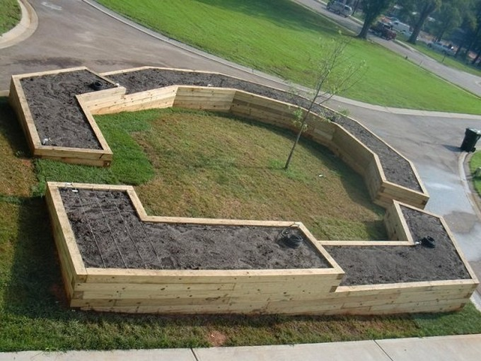 pallet recycled garden ideas