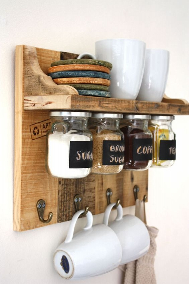 pallet spice rack shelf