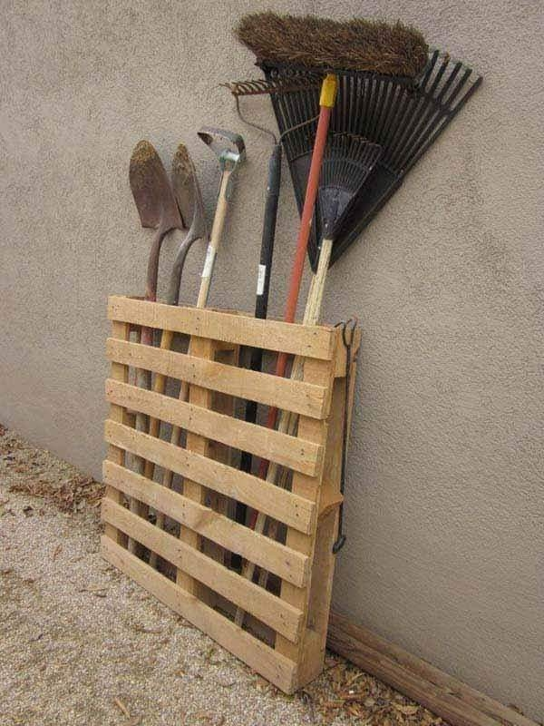pallet tools rack