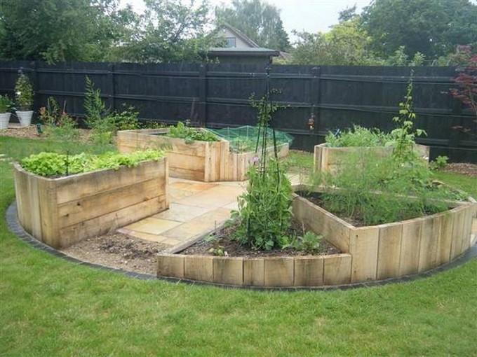 Pallet Raised Garden Bed Ideas Wood