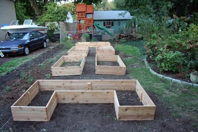 raised pallet beds garden ideas