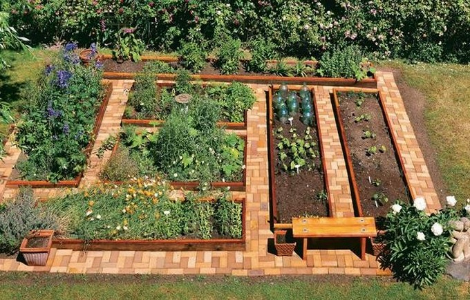 recycled wood pallet garden ideas