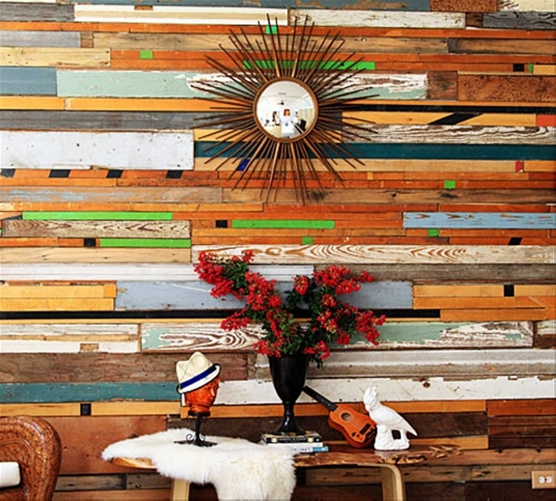 wall decor art with pallets