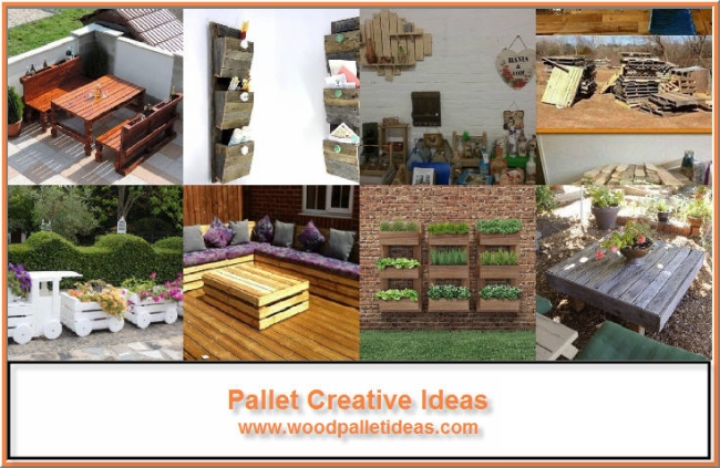 Pallet Creative Ideas