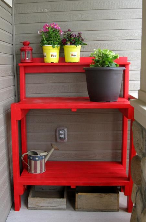 Pallet Potting Table Plans