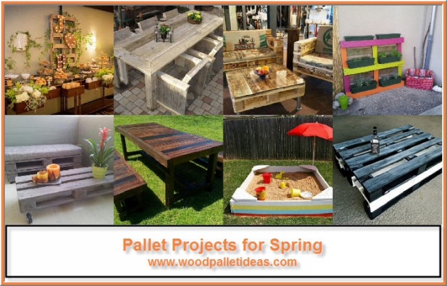 Pallet Projects for Spring